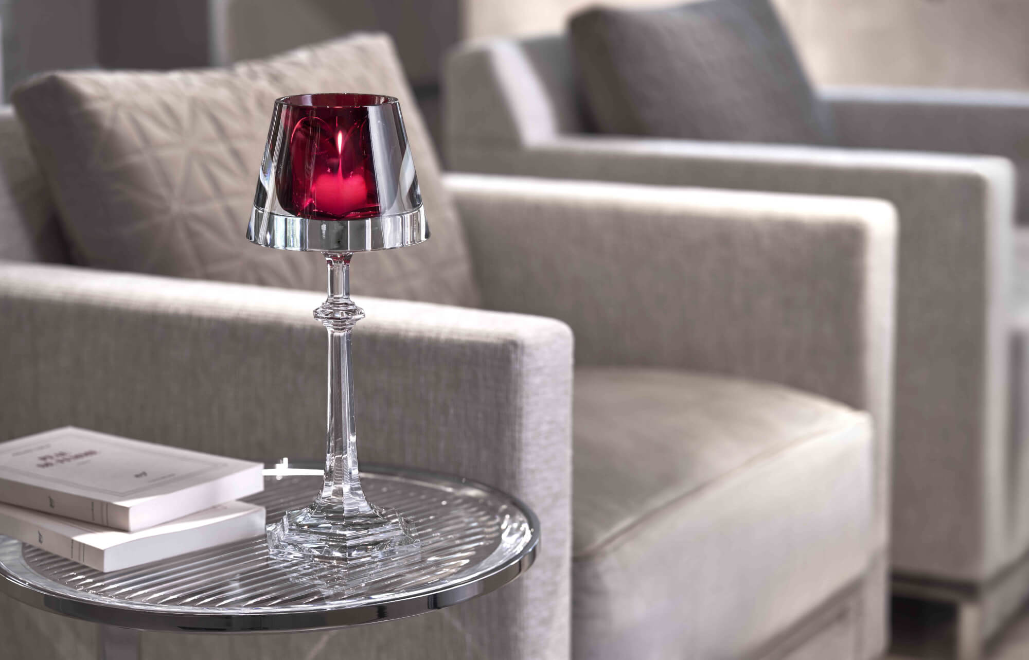 Harcourt My Fire, bougeoir (Baccarat) -