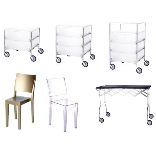Mobilier (Kartell) - Catalogue Good Goods (La Redoute)