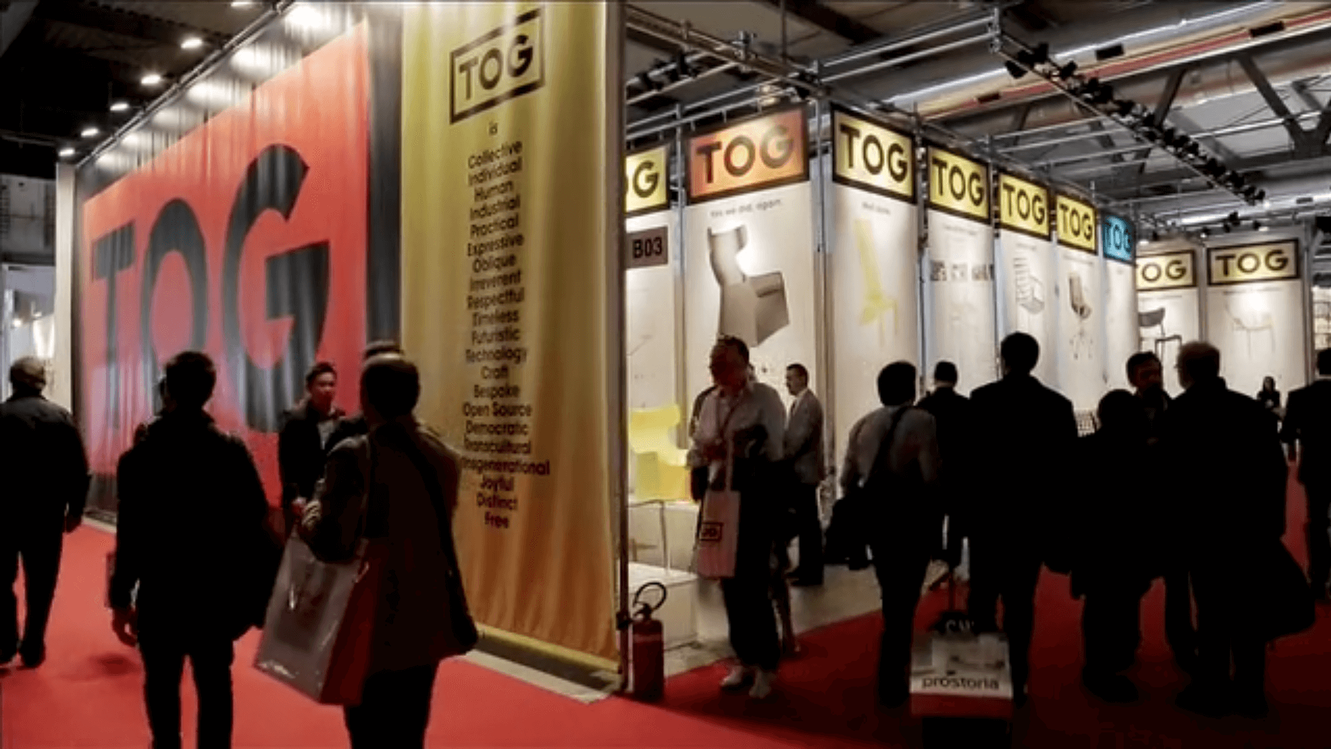 TOG at the Salone Del Mobile 2015 -