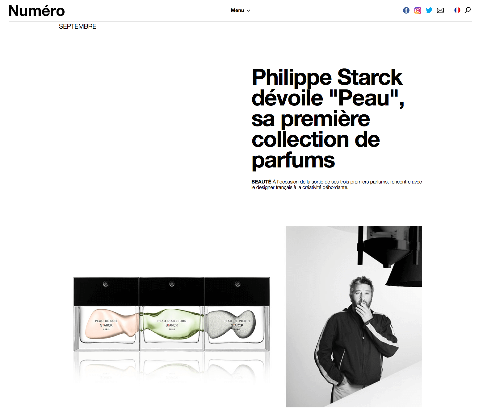 Philippe Starck dévoile